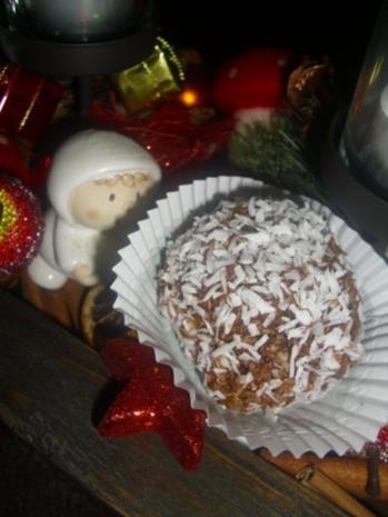 Chokladbollar - Rezept