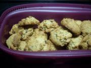 Keks & Co:  Haselnuss-Schoko-Cookies - Rezept