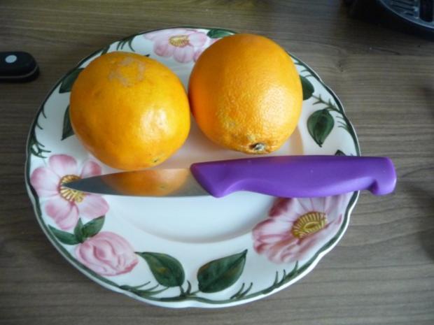 3. Adventsessen / Adventsmenü Orangenhähnchen in Rosinensoße mit Rosenkohl und Kartoffeln - Rezept - Bild Nr. 9