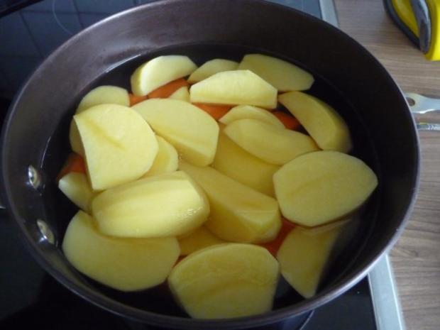 3. Adventsessen / Adventsmenü Orangenhähnchen in Rosinensoße mit Rosenkohl und Kartoffeln - Rezept - Bild Nr. 14