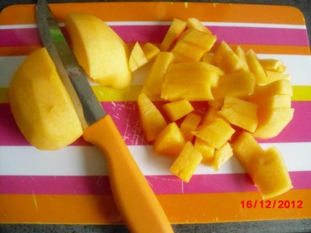 Marzipan-Kaki-Creme - Rezept - Bild Nr. 3