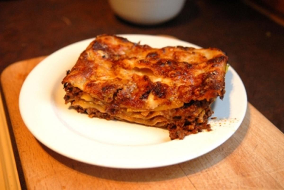 Lasagne für Faule und Eilige