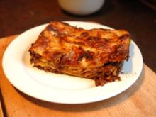 Lasagne (für Faule und Eilige) - Rezept