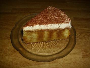 getränkte Torte - Rezept