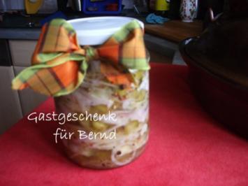 Gabelbissen  -  Matjesfilet in Öl - Rezept