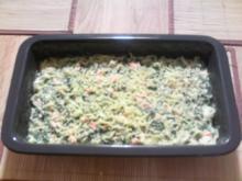 Lachs-Spinat-Auflauf - Rezept