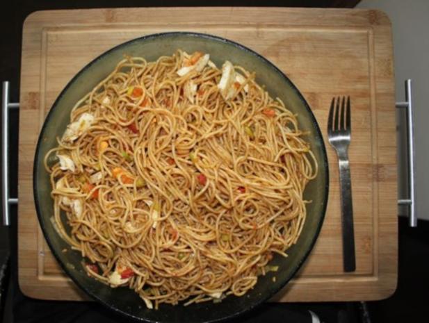 Spaghettisalat Kai - Rezept