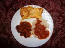 Kürbis-Paprika-Omelette - Rezept