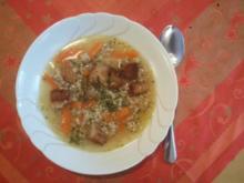 Gemüse Brotsuppe - Rezept