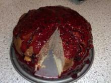 Blaubeer Marmorkuchen - Rezept