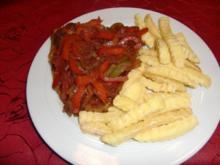 Zigeunerschnitzel à la Heiko - Rezept