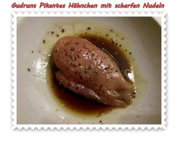 Geflügel: Pikantes Hähnchen mit scharfen Mandeln - Rezept - Bild Nr. 3