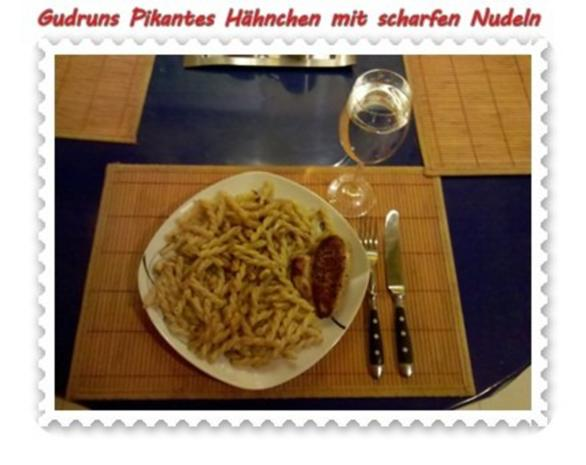 Geflügel: Pikantes Hähnchen mit scharfen Mandeln - Rezept - Bild Nr. 9