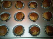 Hefe-Muffins mit Schokokern - Rezept