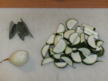 Beilage: Zucchinigemüse mit Mischpilzen - Rezept