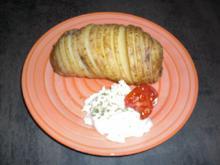 Hasselback Kartoffeln - Rezept