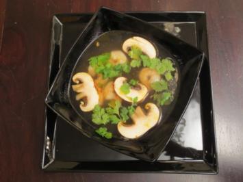 Rezept: Zitronengras-Ingwer-Suppe