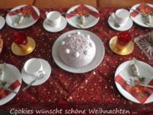 """Cookies' """"kleine"""" Weihnachtstorte 2012 - Rezept"""