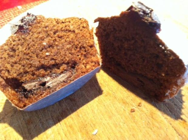Schoko Muffins mit cremigen Kern - Rezept - Bild Nr. 2
