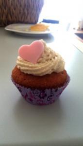 Spekulatius-Cupcakes mit Zimt-Frosting - Rezept