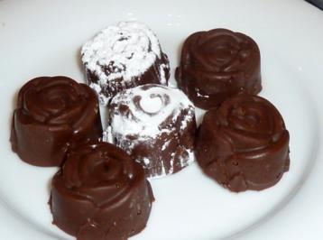 Heiße Schokolade am Stiel - Rezept