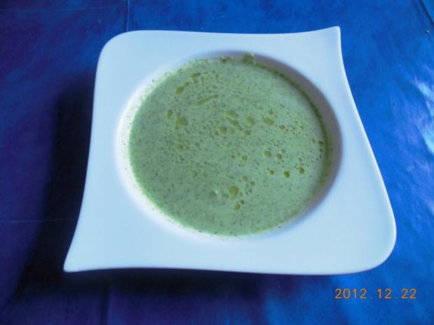 Suppe: Broccolisuppe - Rezept - Bild Nr. 2
