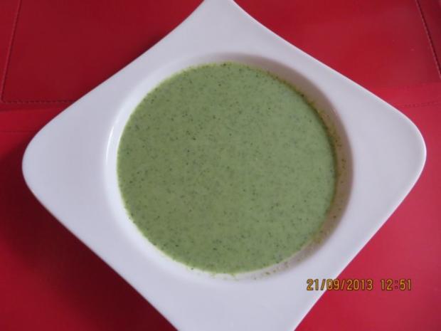 Suppe: Broccolisuppe - Rezept - Bild Nr. 3