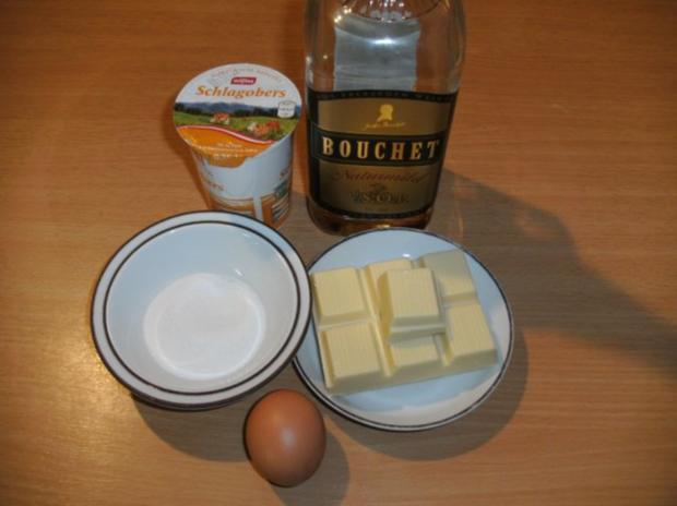 Konfekt: Eier-Cognac - Trüffel - Rezept - Bild Nr. 2