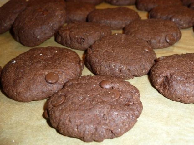 Schoko Cookies - Rezept - Bild Nr. 3
