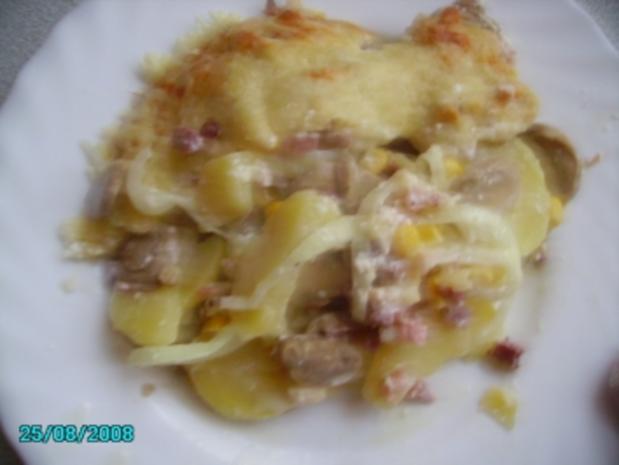 Buntes Kartoffel-Gratin - Rezept