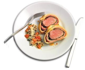 Steak im Teig - Rezept