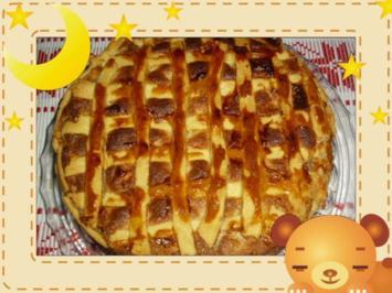 Marzipan-Apfelkuchen - Rezept