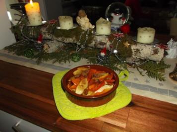 Michis weihnachtliches Kürbisdessert - Rezept