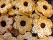 Spitzbuben - Weihnachtsgebäck mit Marmelade - Rezept
