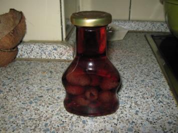 Erdbeer-Himbeer-Essig - Rezept