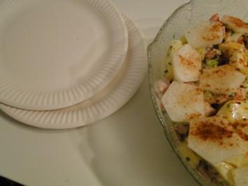 Same procedure as every Year Kartoffelsalat und Würstchen dann auch auf Party - Rezept