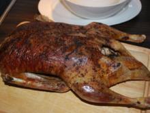 Rosmarin-Ente aus dem Ofen mit Feigensauce - Rezept