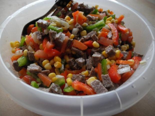 Pikanter Festtags Rindfleischsalat - Rezept