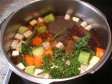 Suppen: Feine Rinderbrühe - Rezept