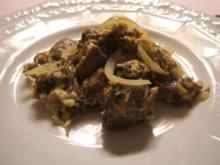 Fleisch: Zwiebelfleisch - Rezept