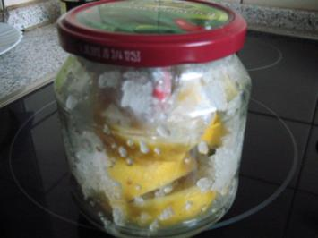 Salzzitronen marokkanische Art - Rezept