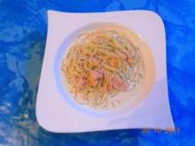 Kochen: Spaghetti in Lachs-Sahne-Soße - Rezept
