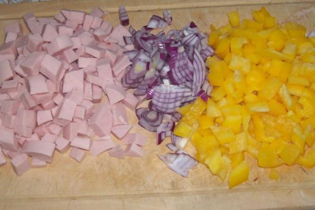 Pikanter Nudel-Gemüse-Auflauf mit Raclette-Käse - Rezept - Bild Nr. 2