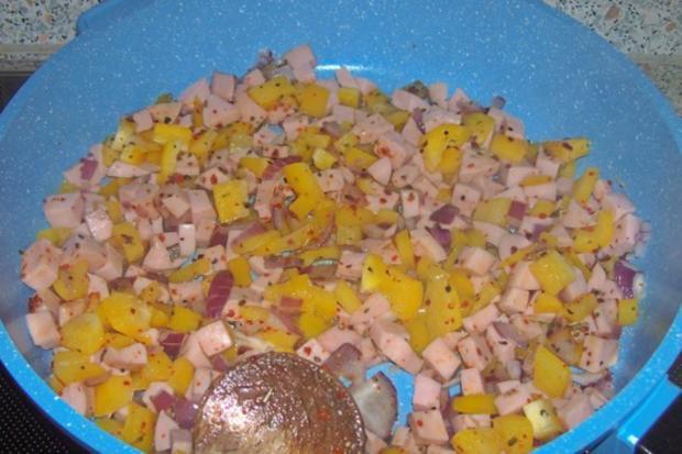 Pikanter Nudel-Gemüse-Auflauf mit Raclette-Käse - Rezept - Bild Nr. 3