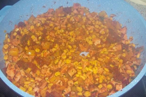 Pikanter Nudel-Gemüse-Auflauf mit Raclette-Käse - Rezept - Bild Nr. 4