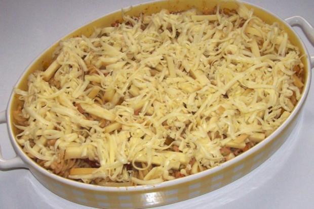 Pikanter Nudel-Gemüse-Auflauf mit Raclette-Käse - Rezept - Bild Nr. 8
