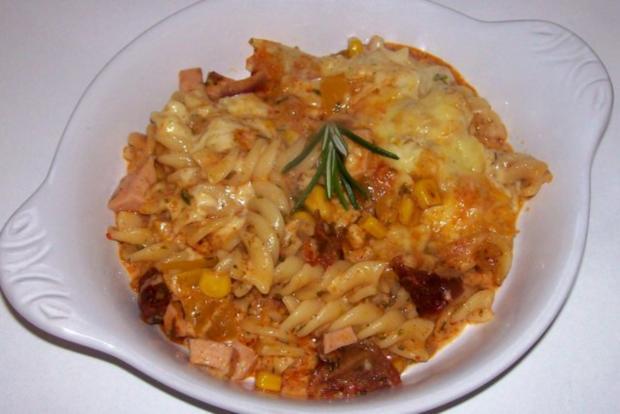 Pikanter Nudel-Gemüse-Auflauf mit Raclette-Käse - Rezept - Bild Nr. 10