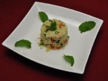 Salat mit Weizengrieß und frischer Minze - Rezept