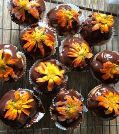 Rezept: Ringelblumen Muffins