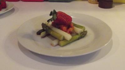 Spargel-Salat mit Chili und Ingwer - Rezept